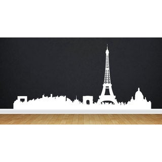 Eiffel Tower Paris SkyLine Vinyl Sticker Wall Art
