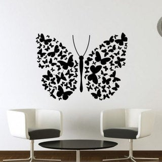 Butterfly Vinyl Sticker Wall Art