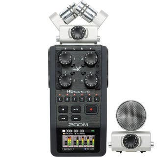 Zoom H6 Handy Recorder with Interchangeable Microphone System|https://ak1.ostkcdn.com/images/products/10183922/P17310181.jpg?impolicy=medium
