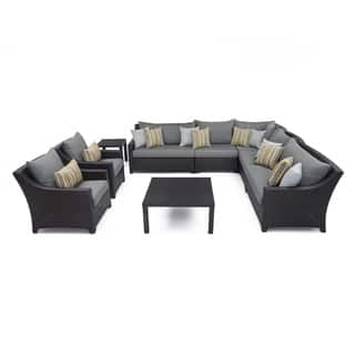 RST Brands Deco 9-piece Corner Sectional and Club Chair Set with Charcoal Grey Cushions https://ak1.ostkcdn.com/images/products/10183942/P17310211.jpg?impolicy=medium