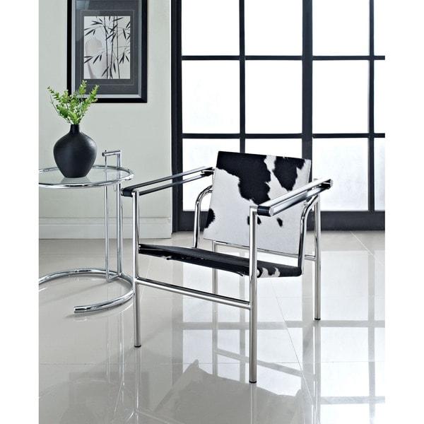 Charles Pony Hide Lounge Chair