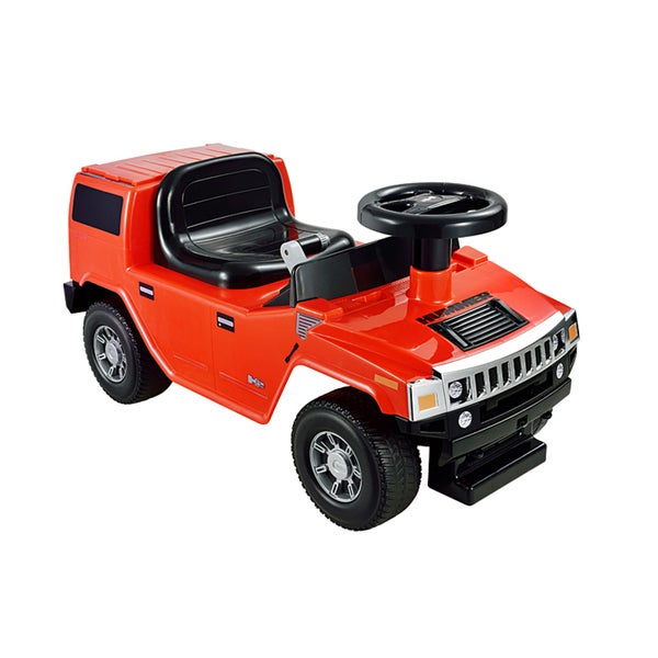 Kid Motorz Hummer H2 Foot To Floor In Red