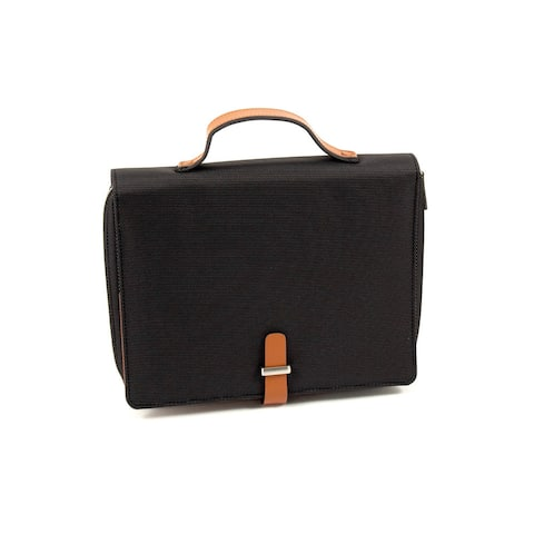 Multi-compartment Tablet and Portfolio Carrying Case