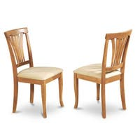 Pine Canopy Siuslaw Oak Finished Dining Chair (Set of 2)