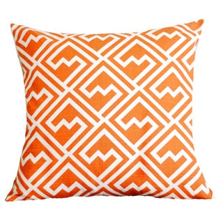 Tangelo Maze Pillow Cover
