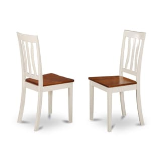 Antique Two-tone Dining Chair (Set of 2)