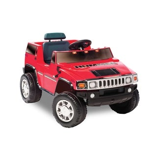 Kid Motorz Hummer H2 One Seater In Red