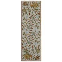Brown Wool Traditions Paradise - 2.5'x12'