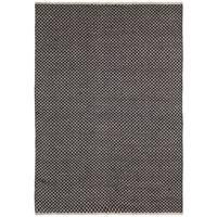 Brown Jute Squares (5'x8') Flat Weave Rug - 5' x 8'