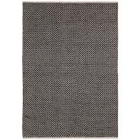Brown Jute Squares Flat Weave Rug - 10'x14'