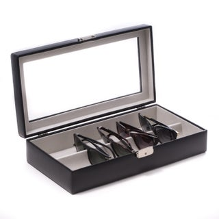 Bey Berk Tanner Black Leather Eyewear Storage Case