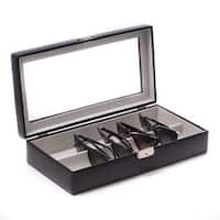 Bey Berk Tanner Black Leather Eyewear Storage Case