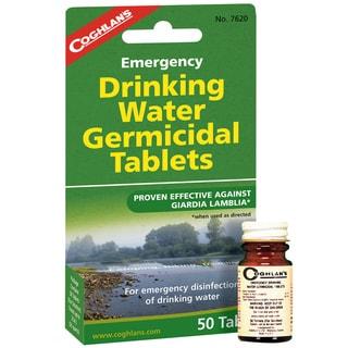 Coghlans Emergency Germicidal Drinking Water Tablets