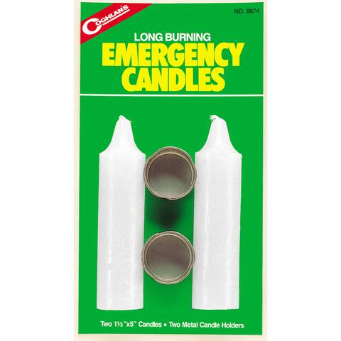 Coghlans Emergency Candles (Package of 2)