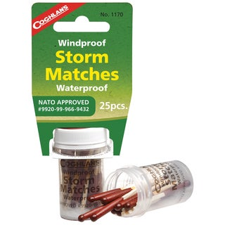 Coghlans Wind/ Water-Proof Storm Matches