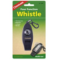 Coghlans Camping Whistle Four Function Whistle