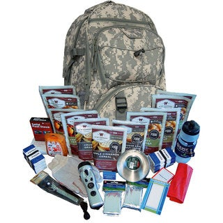 Wise Foods 2 Week Essential Survival Backpack Camo