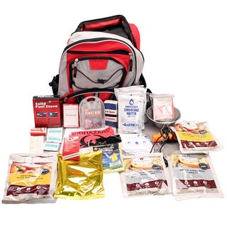 Wise Foods 5-day Survival Back Pack Red