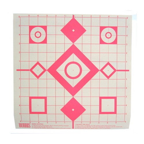 Burris Sight-in Targets (Pack of 10)