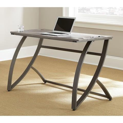Heathwood Grey Finish Desk by Greyson Living