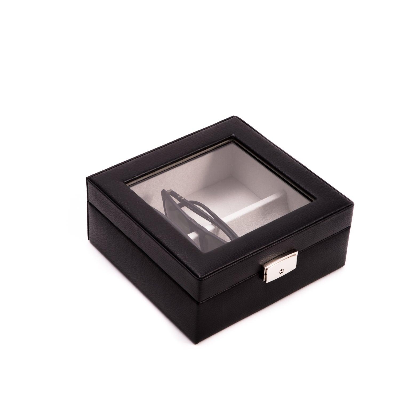Bey-Berk-Harper-Leather-Eyewear-Storage-Case thumbnail 7