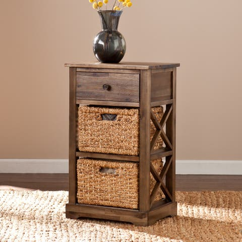 Drennen 3-Drawer Basket Storage Unit