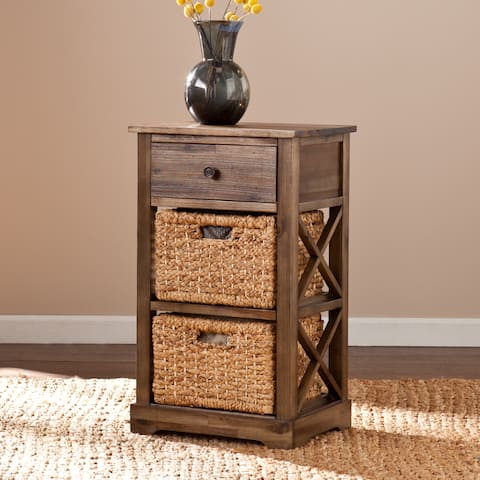 Harper Blvd Drennen 2-basket Storage Shelf