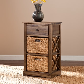 Harper Blvd Drennen 2-basket Storage Shelf