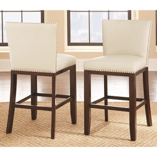 White Counter Amp Bar Stools For Less Overstock Com