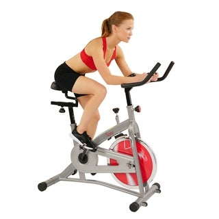 Sunny Health & Fitness SF-B1421 Indoor Cycling Bike - Silver