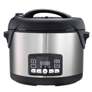 Big Boss 1300-watt Stainless Steel 8.5-quart Oval Pressure Cooker