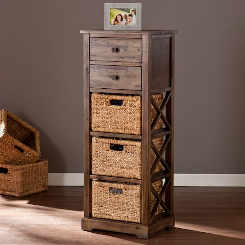 Drennen 5-Drawer Basket Storage Tower Unit