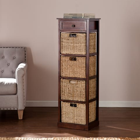 Killeen 5-Drawer Basket Storage Tower Unit