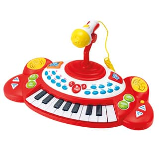 Superstar Electronic Keyboard with Microphone|https://ak1.ostkcdn.com/images/products/10184633/P17310633.jpg?impolicy=medium