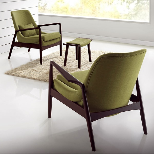 Dixon Mid-century Modern Upholstered Lounge Chair
