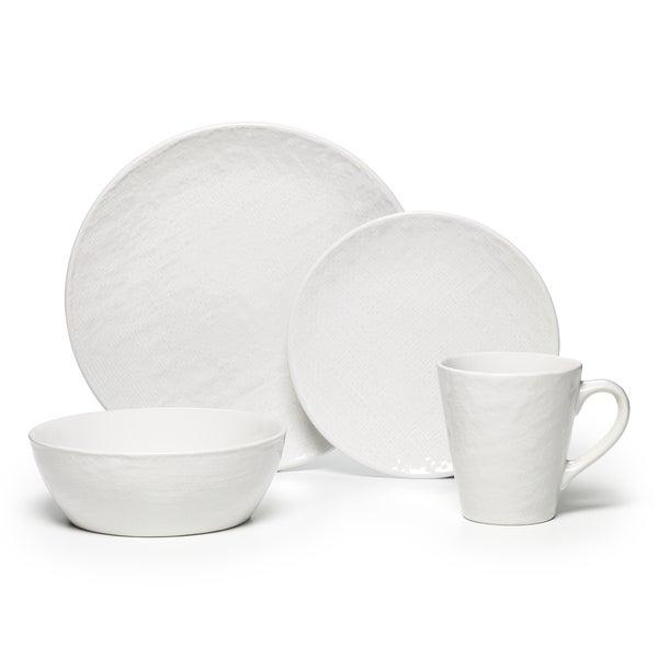 Pfaltzgraff Landen 16-piece White Dinnerware Set