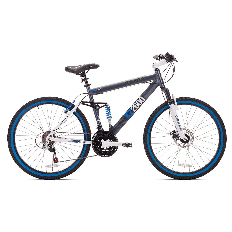 Kent Bicycles 26-inch Thruster KZ2600 MTB, Silver aluminum