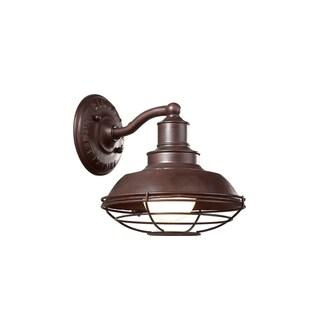 Troy Lighting Circa 1910 1-light Medium Wall Sconce, Old Rust