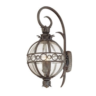 Troy Lighting Campanile 4-light Wall Lantern, Campanile Bronze