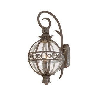 Troy Lighting Campanile 3-light Wall Lantern, Campanile Bronze