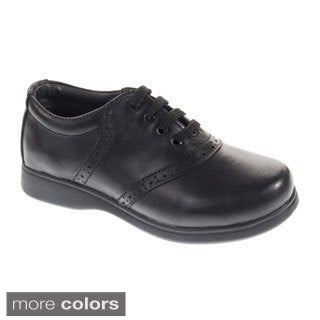 Schoolmates Casual Oxford-inspired Leather Shoes