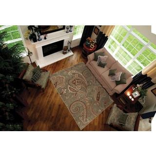 "Anthology Windsor Blue Green Area Rug (7'10"" x 10'10"")"