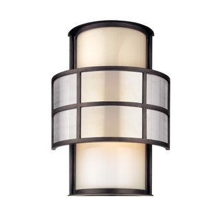 Troy Lighting Discus 2-light Large Wall Sconce, Graphite