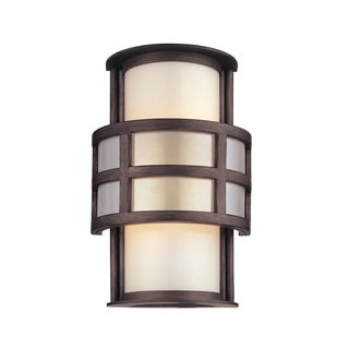 Troy Lighting Discus 1-light Wall Sconce, Graphite