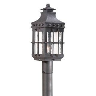 Troy Lighting Dover 1-light Post Lantern, Natural Bronze
