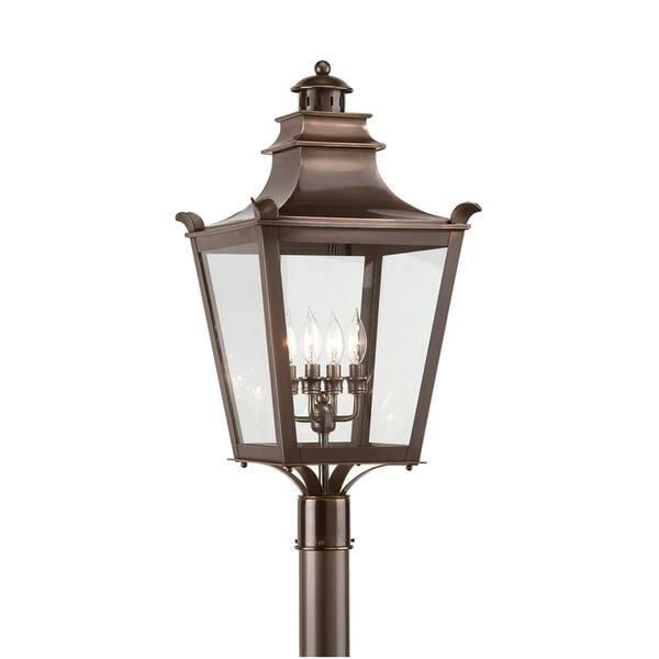 Troy Lighting Dorchester 4 Light Post