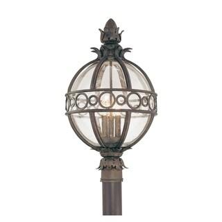 Troy Lighting Campanile 3-light Post Lantern, Campanile Bronze