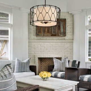 Troy Lighting Buxton 6-light Dining Pendant