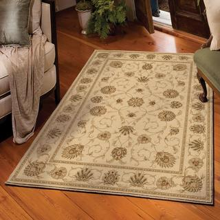 Carolina Weavers American Heirloom Collection Westbury Bisque Area Rug (5'3 x 7'6)