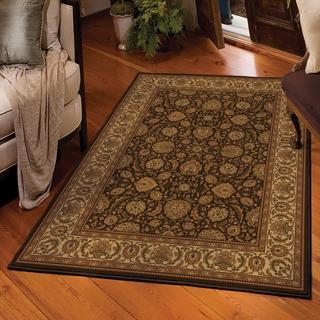 Carolina Weavers American Heirloom Collection Farran Chocolate Area Rug (5'3 x 7'6)